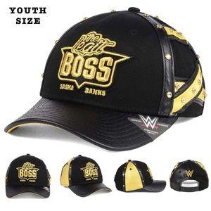 WWE The Legit Boss Sasha Banks Youth Boys Snapback